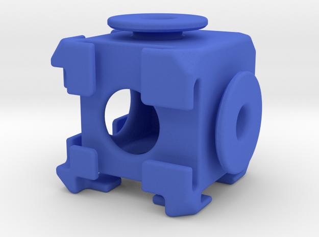Puzz2 in Blue Processed Versatile Plastic