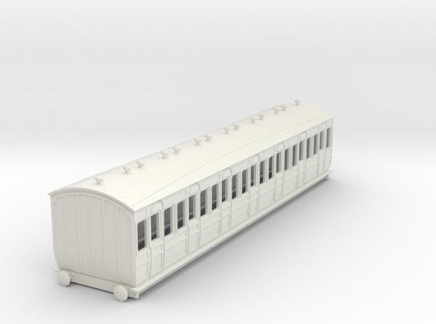 o-100-met-ashbury-bogie-third-class-coach in White Natural Versatile Plastic