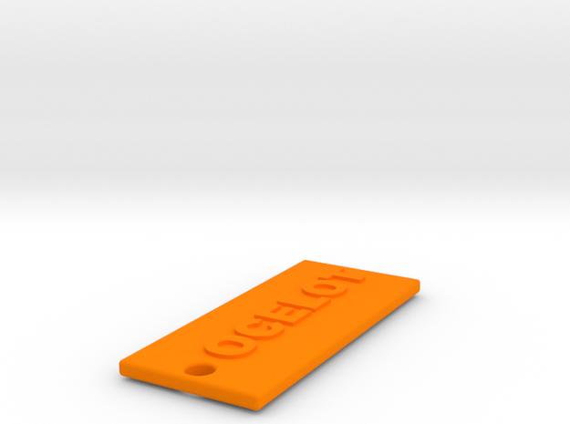 OCELOTBROTHER in Orange Strong & Flexible Polished