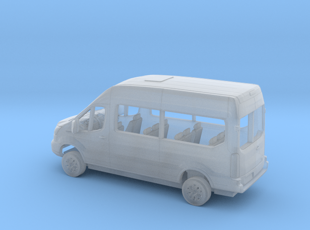 1/87 2018 Ford Transit High Top Van Kit in Smooth Fine Detail Plastic