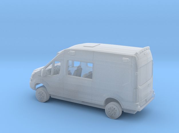 1/160 2018 Ford Transit High  Ambulance Kit in Smooth Fine Detail Plastic