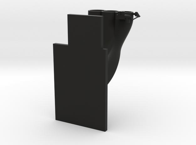 Blower with platform in Black Natural Versatile Plastic