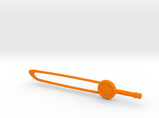 Stunning Olympia in Orange Processed Versatile Plastic