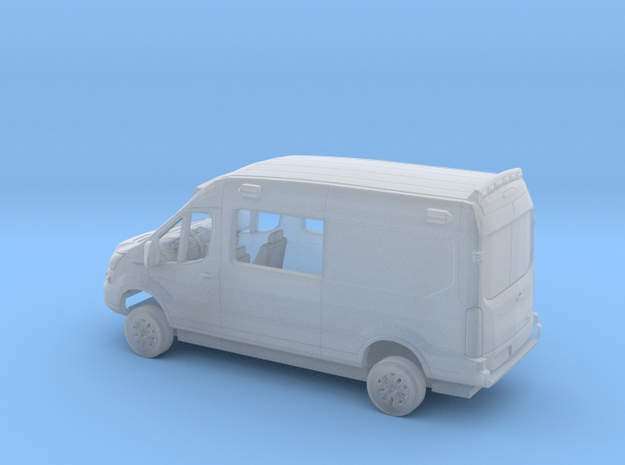 1/87 2014-18 Ford Transit Mid Roof Ambulance Kit in Smooth Fine Detail Plastic