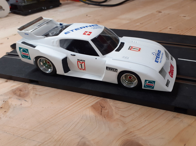 Chassis 124 Tamiya Toyota Celica LB Gruppe 5 13D in White Natural Versatile Plastic