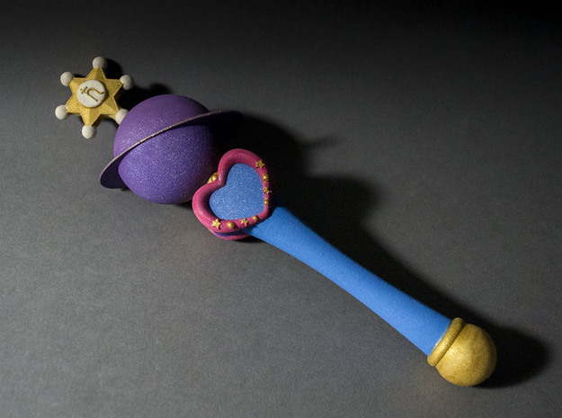 Saturn Planet Wand 3d printed