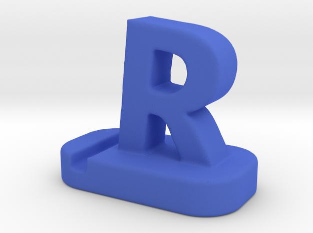 Smartphone Holder 3d Model for Printing in Blue Processed Versatile Plastic