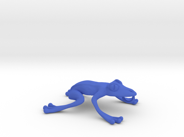 Frog Necklace 3d printed