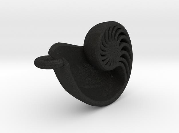 Nautilus Pendant 3d printed