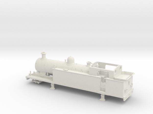 LBSCR (I 3) Standard Configuration in White Natural Versatile Plastic
