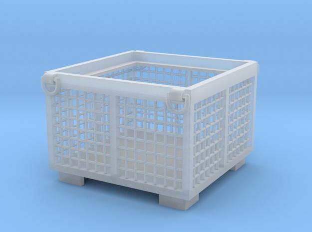 Gitterbox 1:50 120x120x80cm in Smoothest Fine Detail Plastic