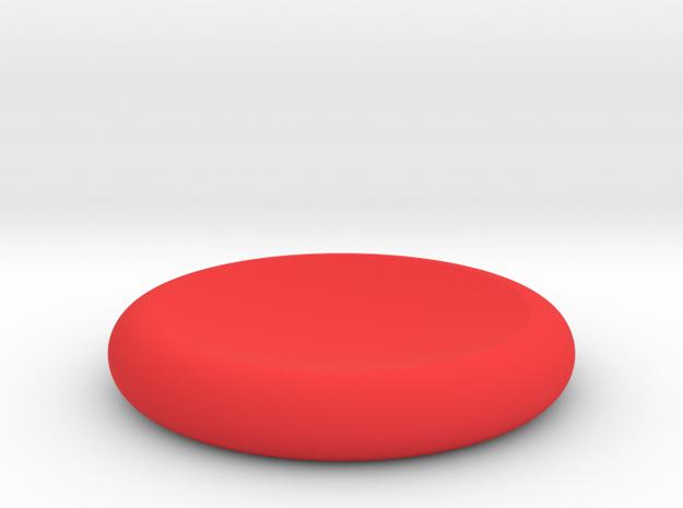SlideCoin 37 in Red Processed Versatile Plastic