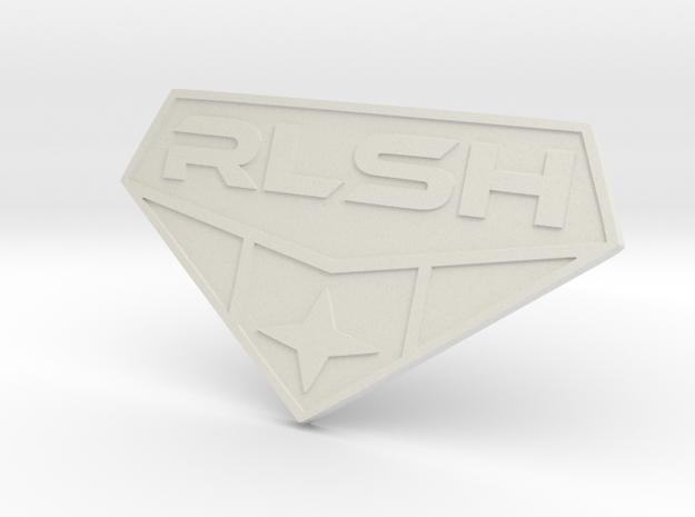 RLSH BADGE remix in White Natural Versatile Plastic