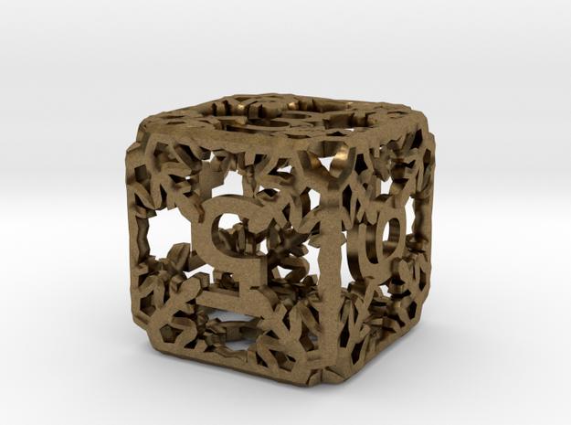 Snowflake Die 3d printed