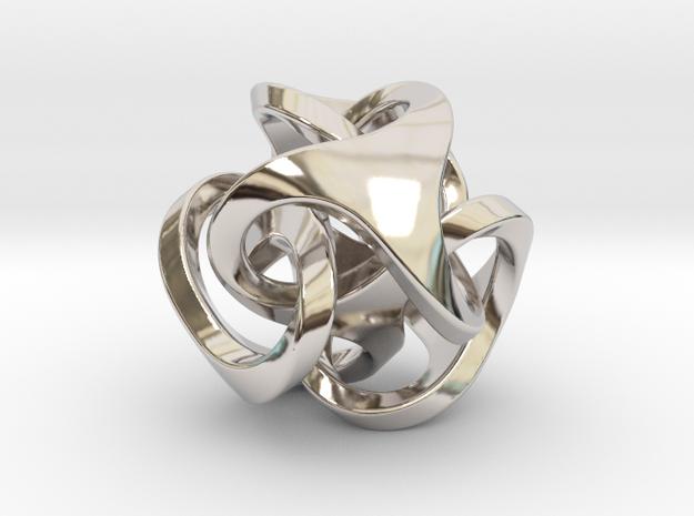 Ora Pendant (smaller) 3d printed
