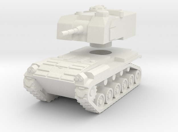 1/72 M52 SPG in White Natural Versatile Plastic