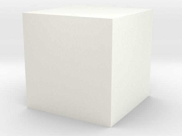 cube 1 cm in Camera & Photo in White Processed Versatile Plastic