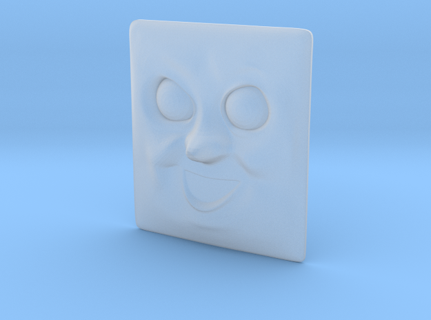 Diesel Face #01 in Smooth Fine Detail Plastic