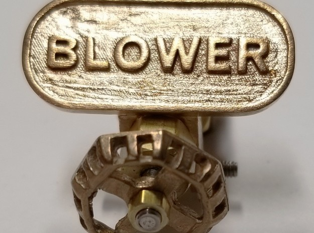 tag_blower_25 in Natural Bronze
