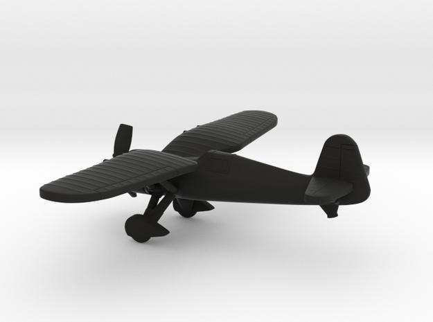 PZL P.24 in Black Natural Versatile Plastic: 1:144