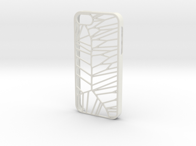 IPhone 5/5s Shard Case in White Natural Versatile Plastic