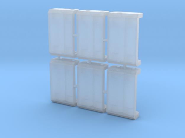 6 x Rollenprüfstand Z / Nm 6,5mm Sputweite in Smooth Fine Detail Plastic