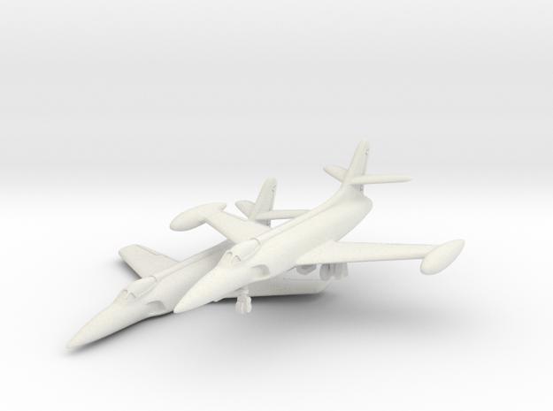 Lockheed XF-90 Pair 1/144 in White Natural Versatile Plastic