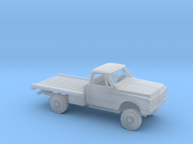 1/87 1967-72 GMC CK-Series Flatbed Kit in Smooth Fine Detail Plastic