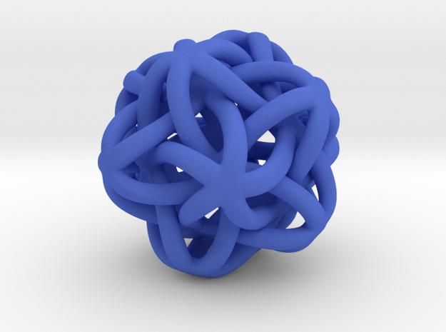 bajo Estrella de mar in Blue Processed Versatile Plastic