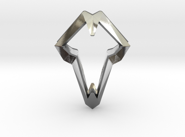"""""""head to head, heart to heart"""" LUCID, pendant 3d printed"""