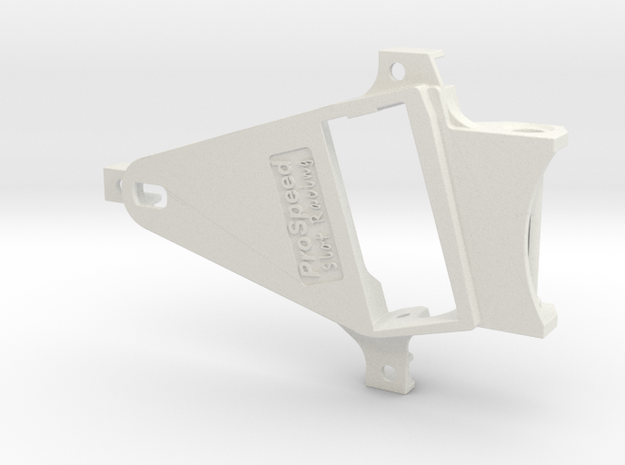 PSNS00901 motor mount f NSR chassis Babyking OF06 in White Natural Versatile Plastic