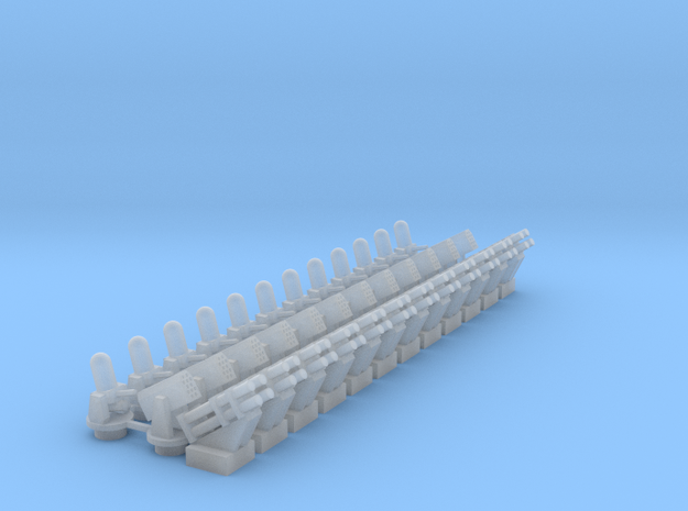 CIWS+RAM+Harpoon (x12) in Smooth Fine Detail Plastic