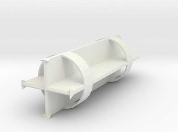 Chisel 2000mm for bored piles in White Natural Versatile Plastic