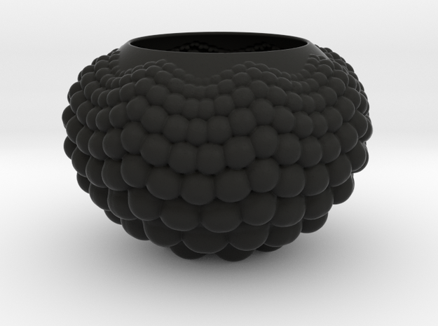 Planter in Black Natural Versatile Plastic