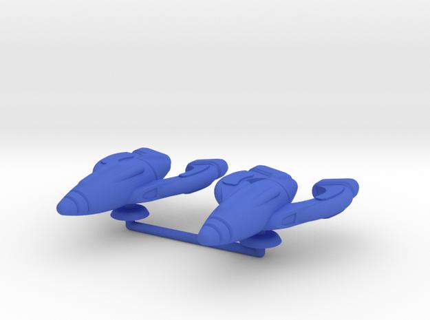 Omega Generic Medium Warship Upscale in Blue Processed Versatile Plastic
