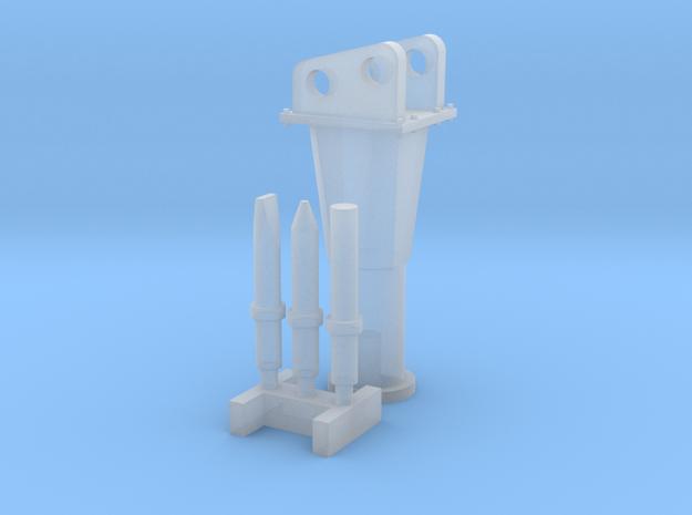 1:50 Hammer for Bobcat E35 in Smooth Fine Detail Plastic