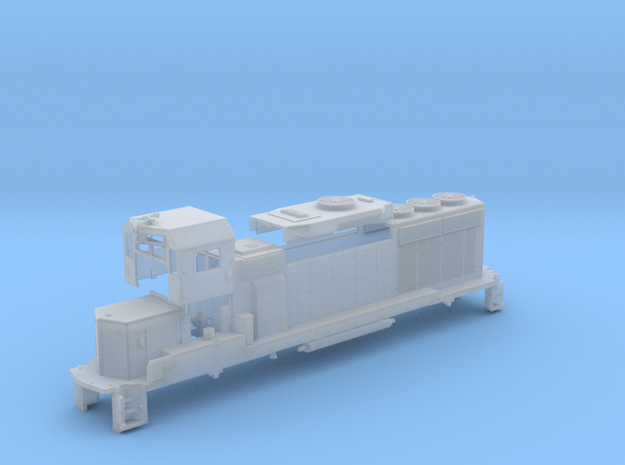 Z Scale GP40-2 in Smoothest Fine Detail Plastic