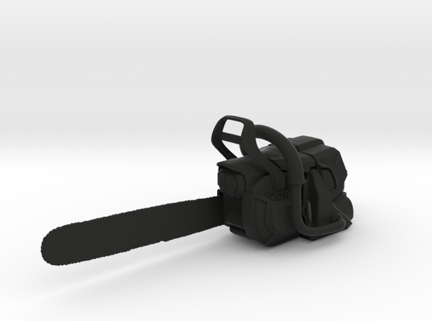 Chain Saw Type 3 - 1/10 in Black Natural Versatile Plastic