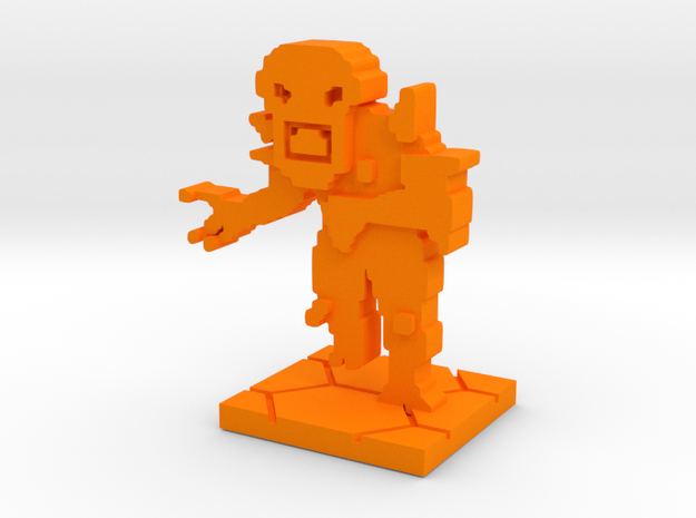 PixFig: IMP in Orange Processed Versatile Plastic