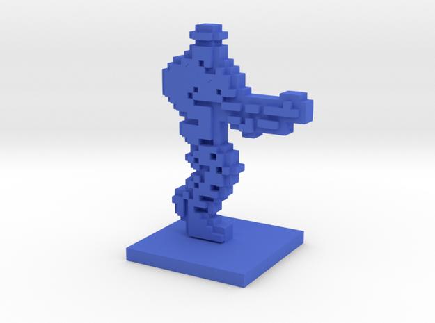 PixFig: Rizer in Blue Processed Versatile Plastic