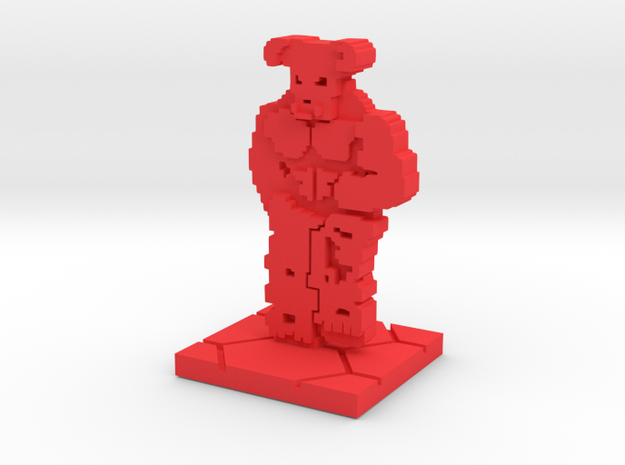 PixFig: Baron in Red Processed Versatile Plastic