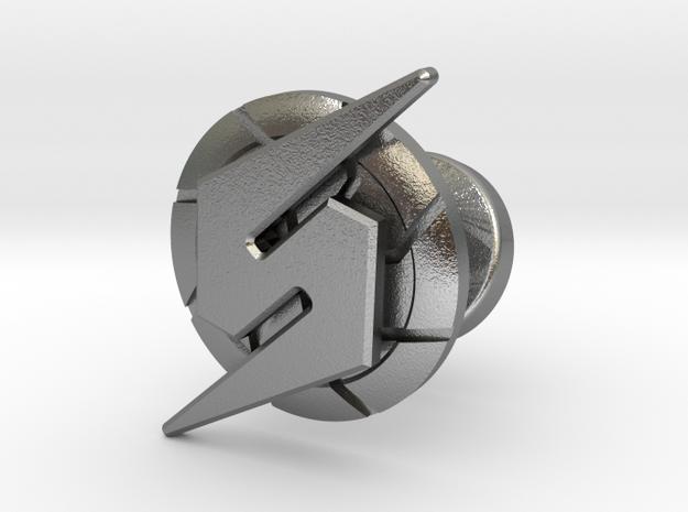 Metroid Symbol Cufflink 3d printed