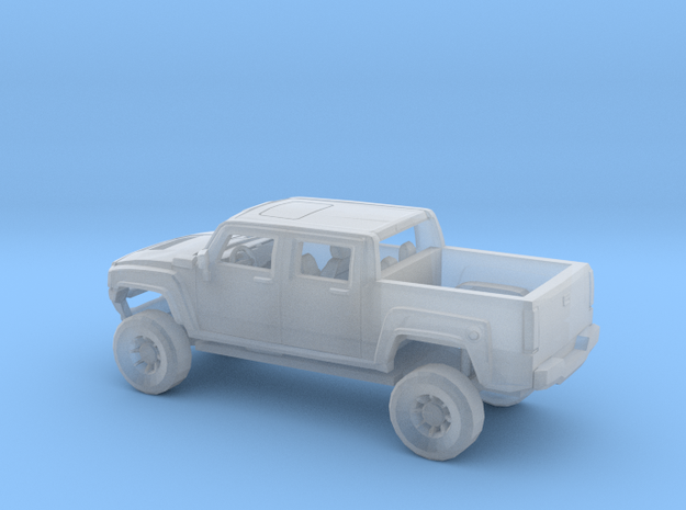 1/160 Hummer H3T in Smooth Fine Detail Plastic