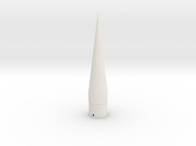 WAC Corporal Cone-BT-55 in White Natural Versatile Plastic