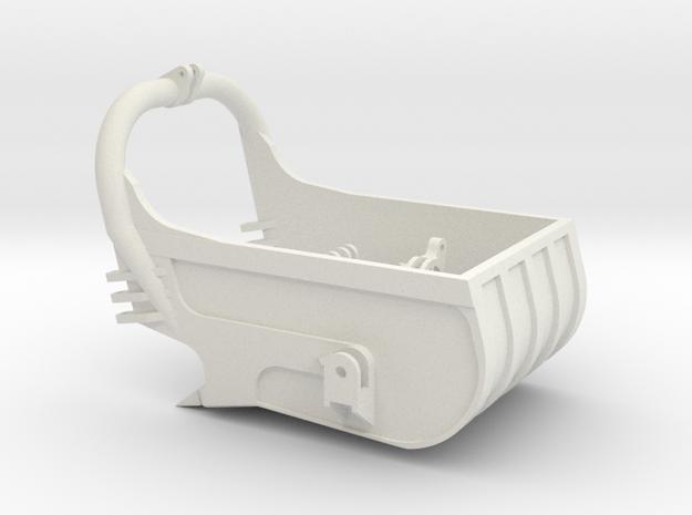 dragline bucket 8cuyd - scale 1/50 in White Natural Versatile Plastic