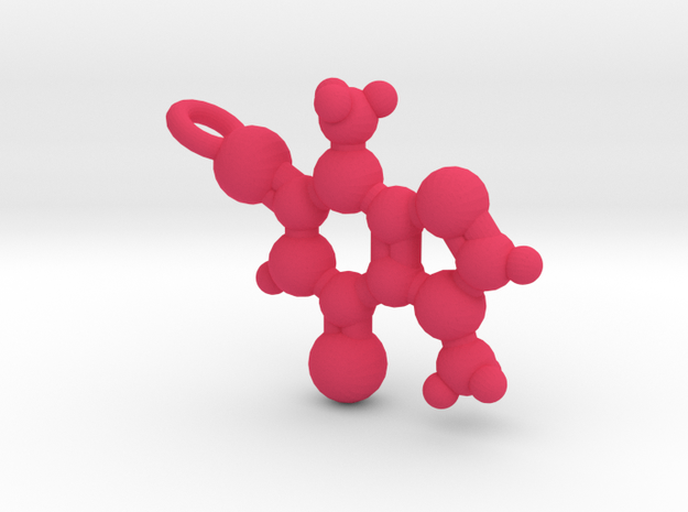 Theobromine Necklace 3d printed