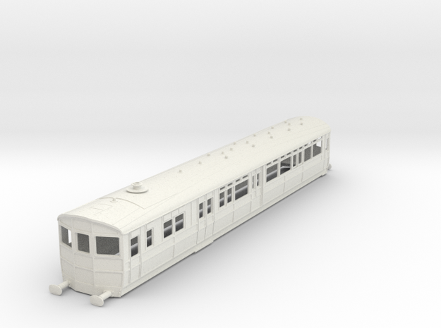 o-32-gwr-diag-q-steam-railmotor1 in White Natural Versatile Plastic