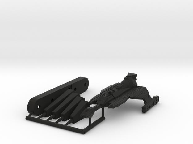 6k L25E Ever Victorious Refit in Black Natural Versatile Plastic