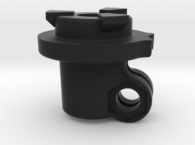Sleeve clamp for Nimble V1 in Black Natural Versatile Plastic