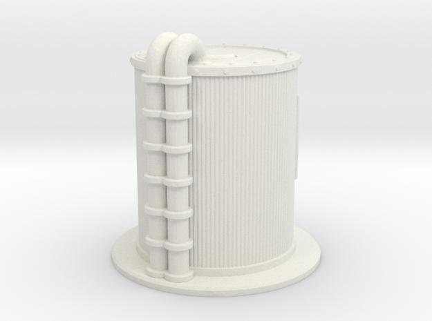 Oil Cistern 1/56 in White Natural Versatile Plastic
